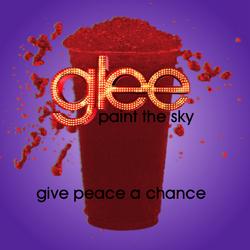 Give peace a chance slushie