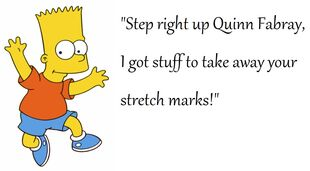 Bart, stretch marks