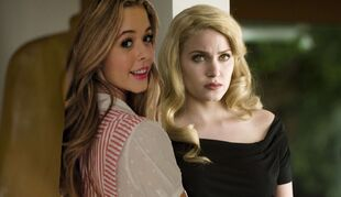 Lucy saul and rosalie naya fabray