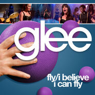 Glee - i believe i can fly