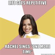 Life-gets-repetitive-Rachel-sings-One-More-Time