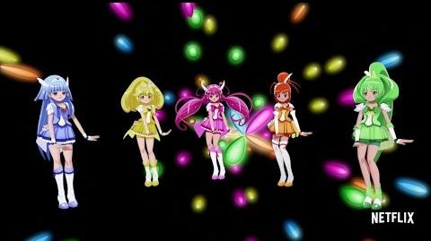 "Glitter Force - Music Video - ""Lucky Girl"""