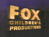 Fox Children's Productions 1991 c