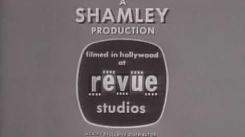 Revue Studios A Shamley Production Logo (1960) Long High Tone Variant