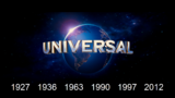 Universal Pictures 1927 1936 1963 1990 1997 2012