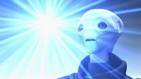 Saint Walker becomes a Blue Lantern