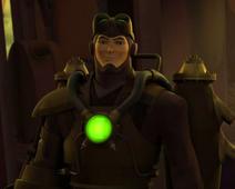 Steam Lantern character