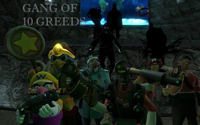 Gang of Ten Greeds Meet The Greeds