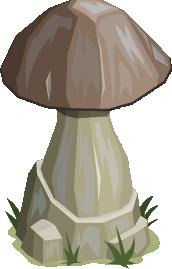 Petrified Mushroom