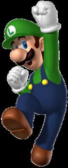 Luigi Jumping