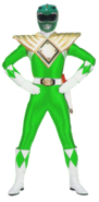 SuperMMPR-Green Bandai