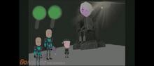 Psychris meets The Apocalypse king in the Phantom projector zone