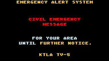 Emergency Alert System Civil Emergency Message