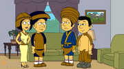 Kahmunrah and his family
