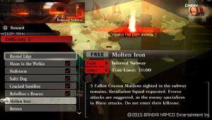 R3 Molten Iron