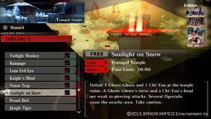 R4 Sunlight on Snow