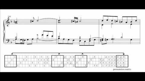 Bach - Contrapunctus 14 - reconstruction - part 2