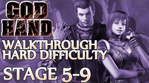 ★ God Hand Walkthrough ▪ Hard Mode - Stage 5-9 ▪ Demon Elvis Boss Fight Elvis 3