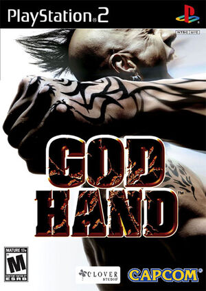 God hand boxart