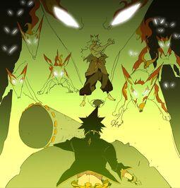 Veritable Pendemonium Nine-Tails Guardian