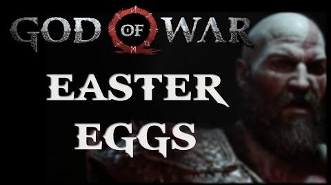 God of War E3 2016 Gameplay Trailer Easter Eggs-0