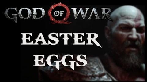 God of War E3 2016 Gameplay Trailer Easter Eggs-0