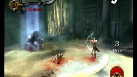 God of War II - Dark Cerberus Boss Battle