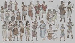 Sparta walk civilians