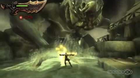 Kratos vs Scylla
