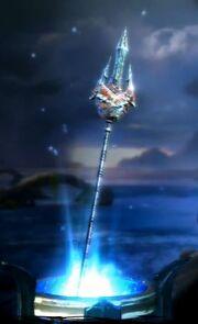 Lance of Poseidon in-game