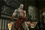 Kratos in Soul Calibur Broken Destiny