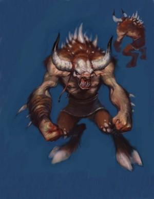 Minotaure Fantassin GOW