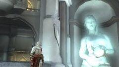 Eos statue