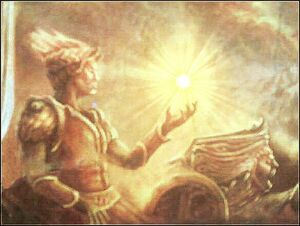 Helios painting