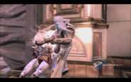 Kratos vs Zeus god of war III