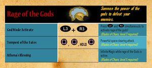Rage of the Gods - abilities