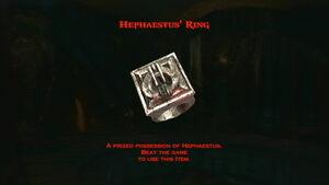 Hephaestus' Ring