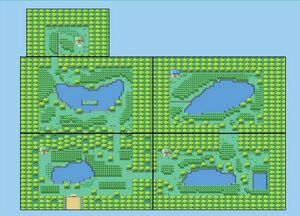 Safari Zone Map