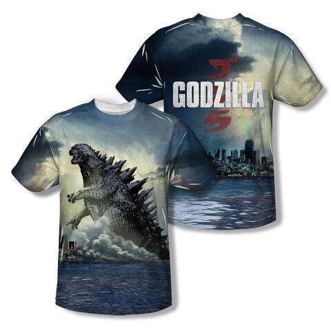 File:Godzilla Merchandise - Clothes - Godzilla Ocean Scene Sublimation Allover Print T-shirt.jpg