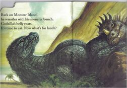 Godzilla Likes To Roar Page