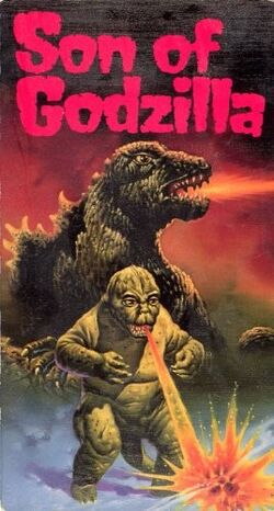 Son of Godzilla American VHS Cover