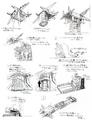 Concept Art - Godzilla vs. MechaGodzilla 2 - MCG-1 3