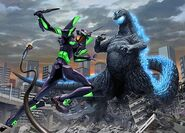 Godzilla vs Evangelion second workimage