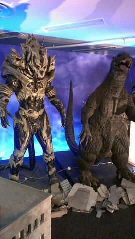 File:Great Godzilla 60 Years Special Effects Exhibition photo by Joseph Rouleau - Monster X 1.jpg