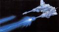 Concept Art - Godzilla vs. MechaGodzilla 2 - Garuda Beam 1