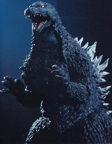 The KiryuGoji as it is seen in Godzilla Against MechaGodzilla