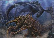 Godzilla uchusen daikaiju art by bridwell1962-d4xqrnc