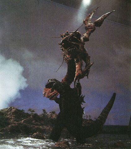 File:EHOTD - Godzilla About to Slam Ebirah on Set.jpg