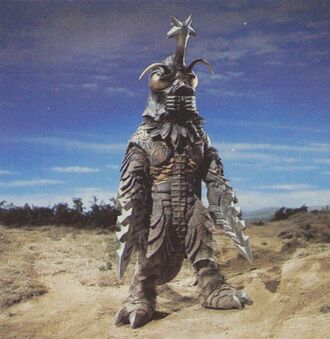 Megalon in Godzilla vs. Megalon (click to enlarge)