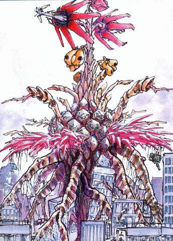File:Concept Art - Godzilla vs. Biollante - Biollante Rose 9.png